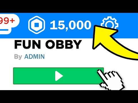 This Is How To Earn Robux Online Youtube Secret Obby Gives 15 000 Free Robux December 2019 Youtube In 2020 Roblox Roblox Online Roblox Roblox