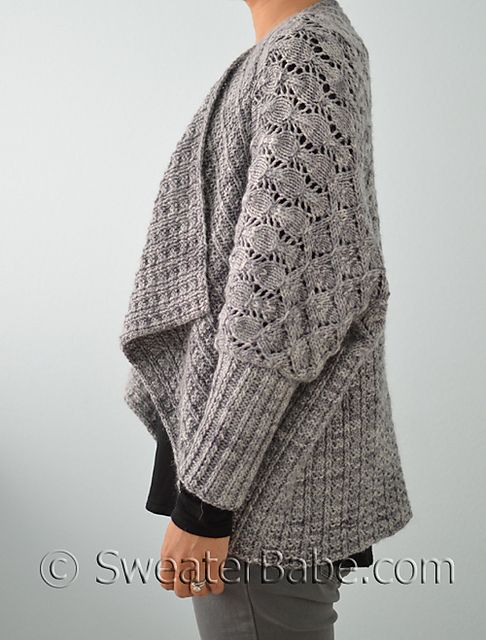 Knitting Pattern Upside Down Sweater : Wrap cardigan, A well and Ravelry on Pinterest