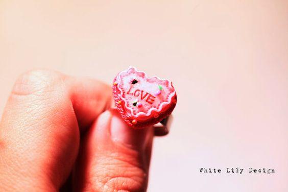 Love Cake Ring for Valentine