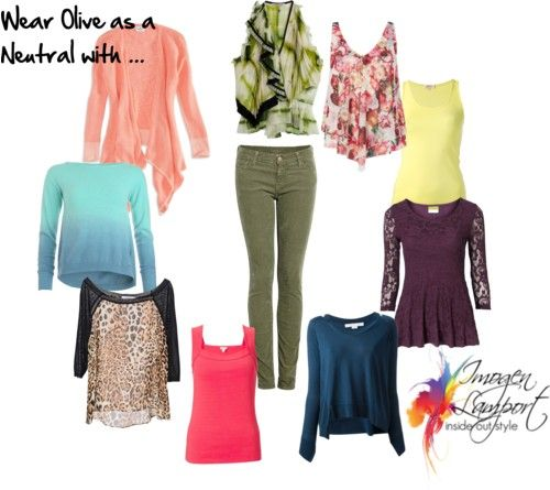 what to team with olive olives clothing items and colors