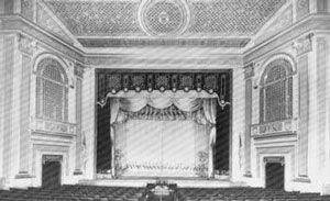 Interior of The Colonial Theatre Phoenixville PA