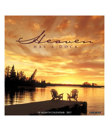 This Heaven Has a Dock 18-Month 2017 Wall Calendar is perfect! #zulilyfinds
