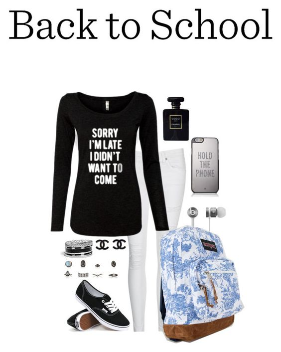 """""""Back To School Outfit"""" by annakilts on Polyvore"""