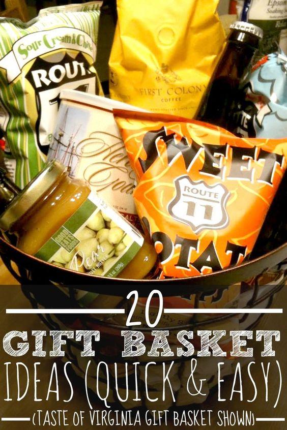 Inexpensive Wedding Gift Basket Ideas : these ideas and more gift basket ideas awesome baskets basket ideas ...