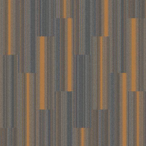 Grayand Orangr Carpet Tiles Orange Pattern