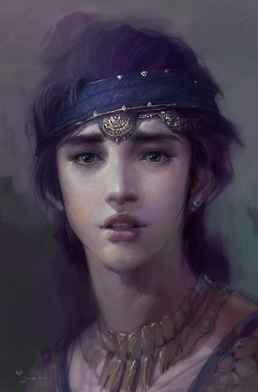 .i don't know who this is but she reminds me of princess mononoke                                                                                                                                                      Plus