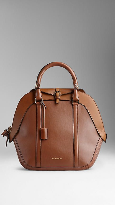 The Medium Orchard in Calf Leather   Burberry