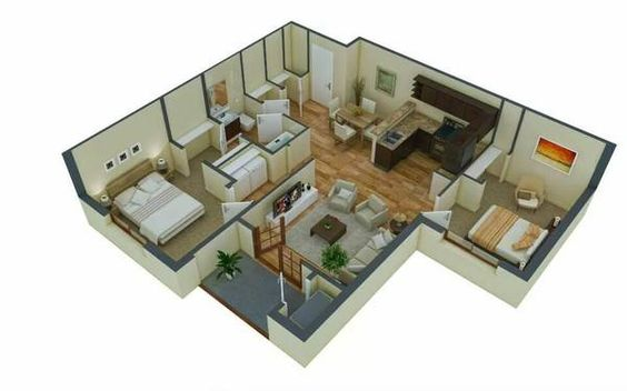 Our 2 Bedroom 1 Bathroom Floor Plan This Floor Plan Is 1 147 Sq Ft Apartment Floor Plans Apartments For Rent Bathroom Floor Plans