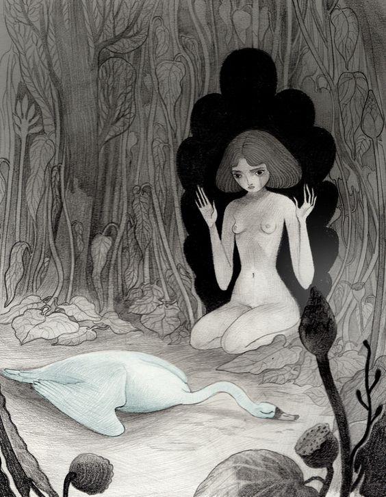 In Bianco e Nero by Isabella Mazzanti, via Behance:
