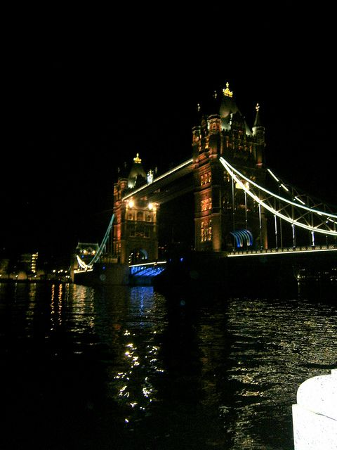 Lights of Tower Bridge, via Flickr. One of my own :)