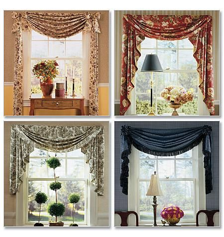 Window Toppers Swag And Sewing Patterns On Pinterest