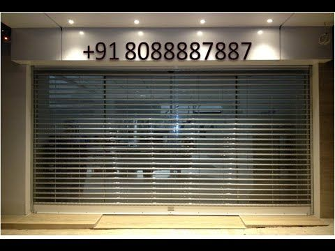 Automatic Polycarbonate Rolling Shutters Bangalore Roller Shutters Shutter Designs Rolling Shutter