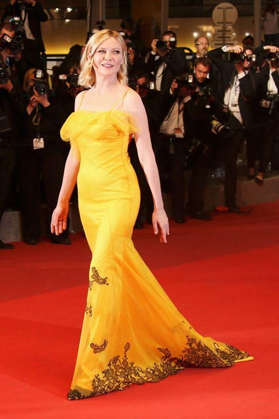 Kirsten Dunst in Maison Margiela - Cannes 2016