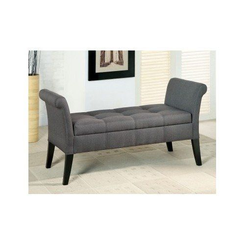 Storage Bench Seats These Upholstered Grey Colored Bench Seats Will Be Beautiful In Your