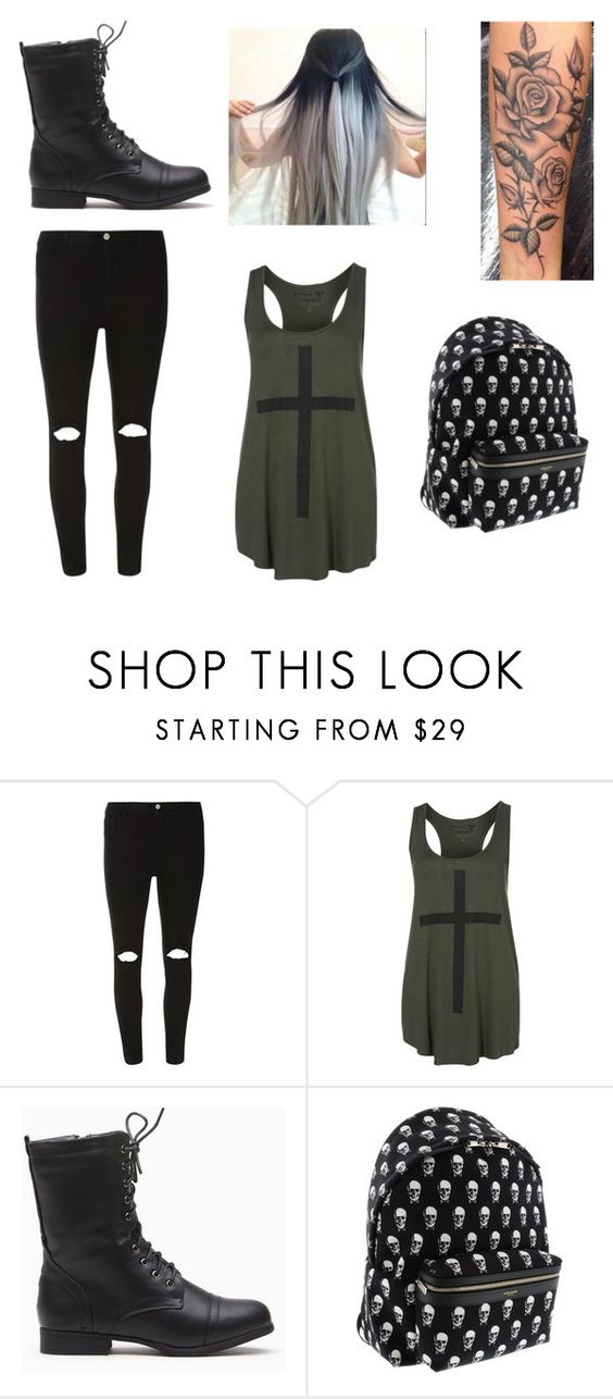 """""""Badass"""" by halsey5sos ❤ liked on Polyvore featuring Dorothy Perkins, Project Social T, Yves Saint Laurent, women's clothing, women's fashion, women, female, woman, misses and juniors"""