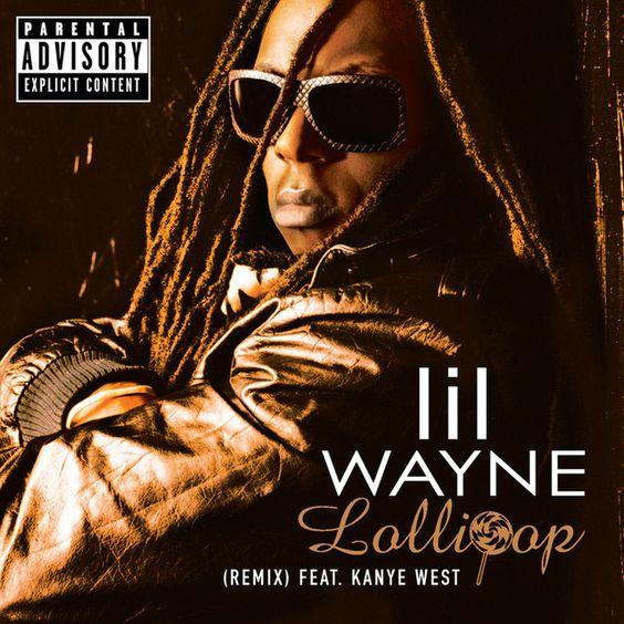 Lil Wayne, Static Major, Kanye West – Lollipop (Remix) (single cover art)