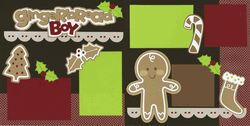 Gingerbread Boy Page Kit