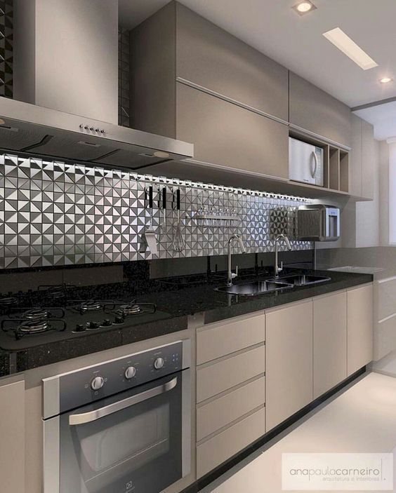Modern Kitchen Complete You Kitchen With The Vigo Greenwich Pull