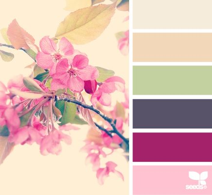 Not too bold or soft but a good balance between the two. Definitely like these colors.