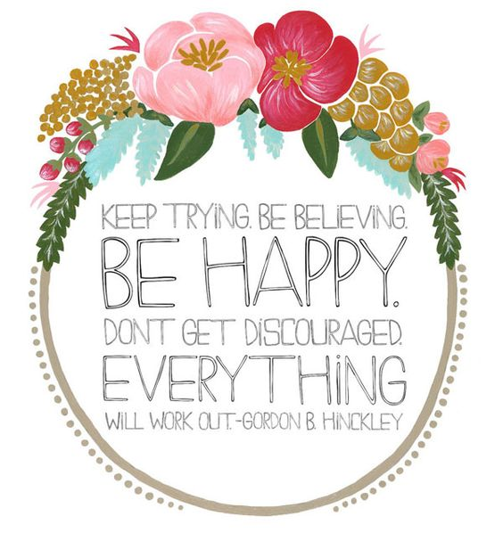 {Words to live by}