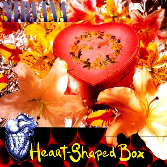 Nirvana – Heart-Shaped Box (single cover art)