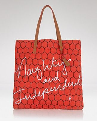 happy independence day!  Loquita Tote - Naughty and Independent | Bloomingdale's