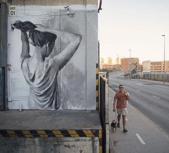 RT GoogleStreetArt: New Street Art by Miquel Wert found in Barcelona   #art…