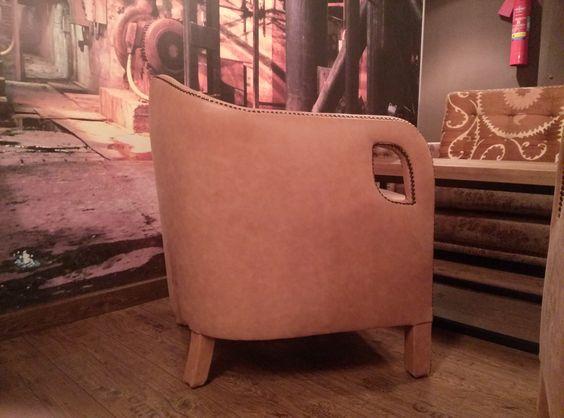 ¡Qué cómodo este sillón del Café Lungo!