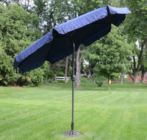 Special Offers - 9 Foot Deluxe Navy Blue Aluminum Outdoor Patio Deck Commercial Umbrella Tilt - In stock & Free Shipping. You can save more money! Check It (September 03 2016 at 04:31AM) >> http://gardenbenchusa.net/9-foot-deluxe-navy-blue-aluminum-outdoor-patio-deck-commercial-umbrella-tilt/