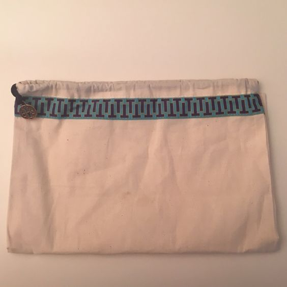 Tory Burch Dust Bag Great for shoes and purses! Canvas material. Tory Burch Bags