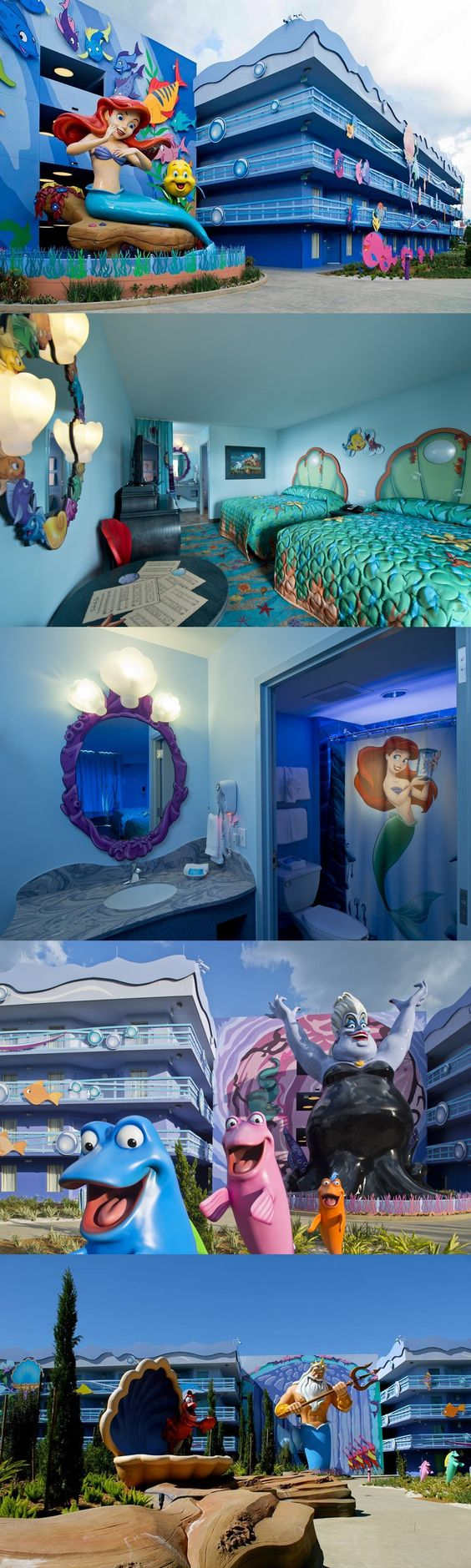"""Ariel's """"Part of Your World"""" at Disney's Art of Animation Resort"""