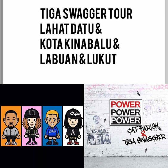From @catfarish -  Coming to you #sabah get ready #powerpowerpower #edm #hiphop #tour @godzillaboombox