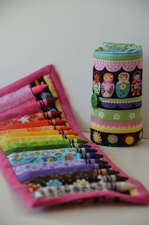 GreenChicken31: Crayon Roll Tutorial                                                                                                                                                     More