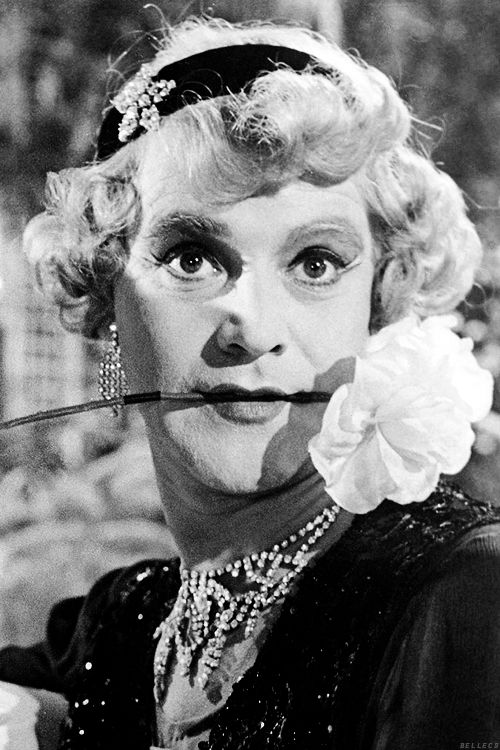 Jack Lemmon. Some Like it Hot (1959). S) - if you're named after a character in a movie at least it was a good one