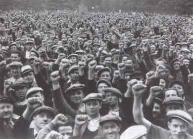 June 7, 1936: Following a series of strikes and sit-ins that saw nearly 1.8 million French workers down their tools and occupy 8,441 factories, the government convened a meeting between labor and corporate representatives. The result was the Matignon Agreements, which included a 40-hour work week, increased union rights, collective bargaining rights, wage increases, and paid leave.: