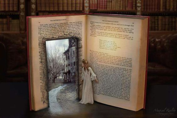 Why do I love to read so much? Because books are a magical portal to another world.