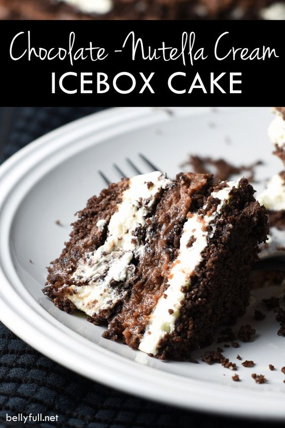 Chocolate Icebox Cakes With Coffee Cream Recipe — Dishmaps