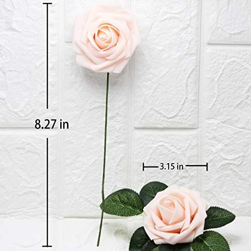 Your Gift Artificial Flowers Bridal Diy Roses Bouquet Real Touch Artificial Roses 25 Pcs For Home Hotel Wedding Decora Garden Crafts Diy Roses Diy Rose Bouquet
