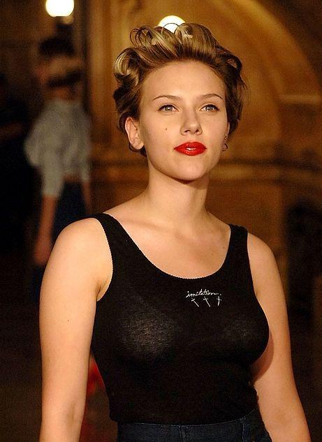 Through see scarlett johansson Scarlett Johansson
