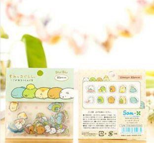 San-X Transparent Sticker Flakes