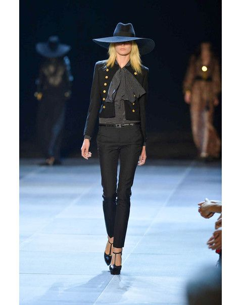 Vogue - Saint Laurent Paris S/S 13