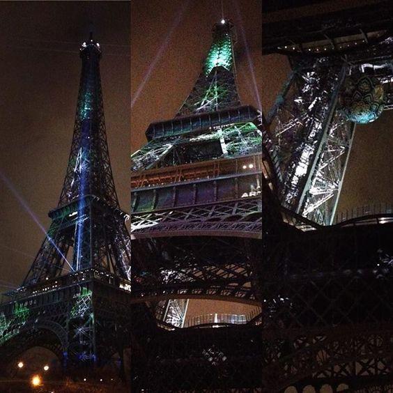 #cop21 #cop21paris2015 #cop21paris by sutebi Eiffel_Tower #France
