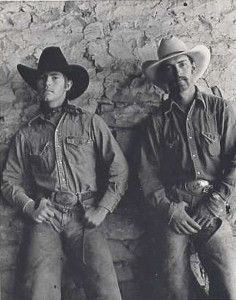 """Louis and Floyd"" Photo by Douglas Kent Hall (the Bell Ranch, New Mexico)"