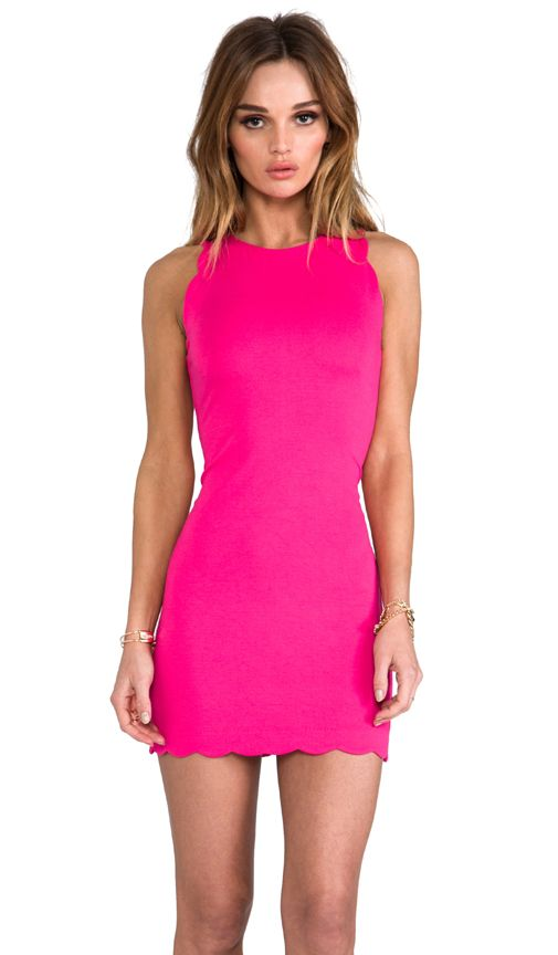 Pink Scalloped Dress @only1mallory  Fashion Passion  Pinterest ...