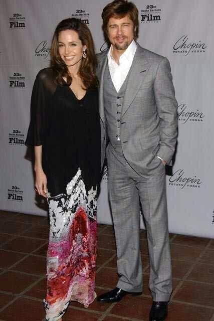 Mr & Mrs. Brad Pitt