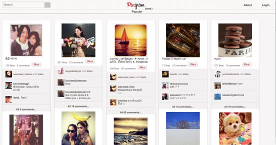 New web app Pingram unites Pinterest and Instagram: http://www.pingram.me