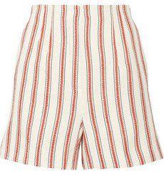 Pin for Later: 28 Shorts à Imprimés Qui Vous Aideront à Combattre la Chaleur  Short en coton et lin mélangés à rayures (350€)