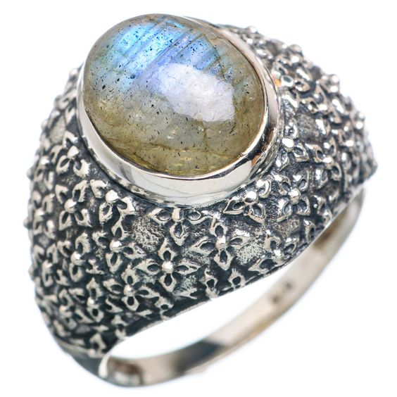 Labradorite 925 Sterling Silver Ring Size 9.25 RING720646