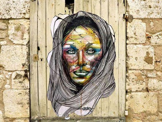street art by hopare | street art - Hopare | Full of Taste