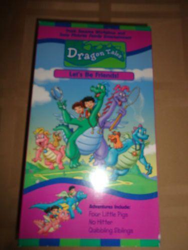 Dragon tales vhs